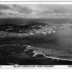 Bluff B&W postcard Whites